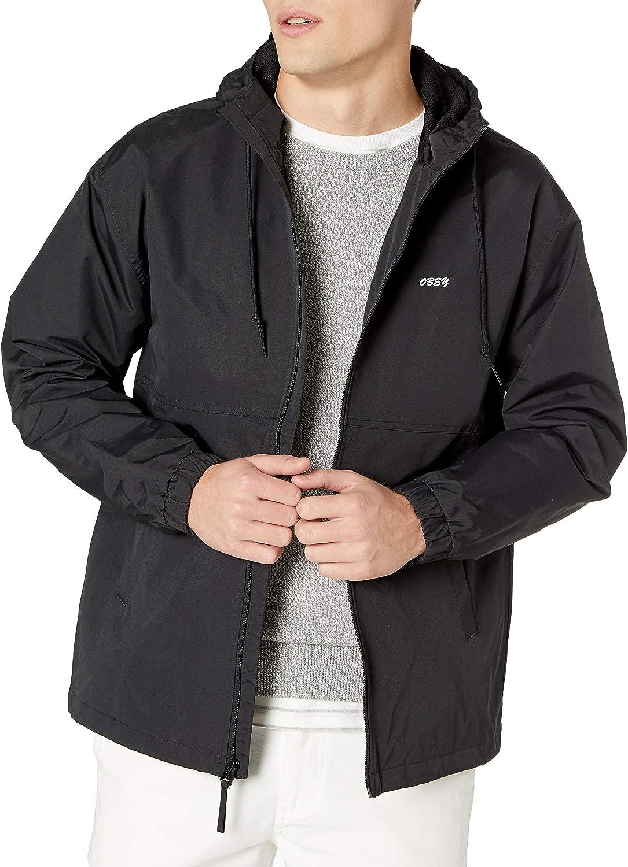 OBEY Men's Caption Jacket