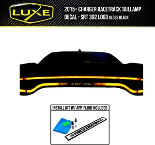 Luxe Auto Concepts Charger Racetrack Taillamp Decal - SRT