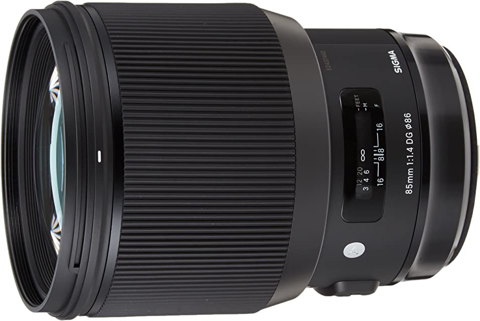 Sigma F1.4 DG AF HSM Art - Objetivo para cámara para réflex (85 mm) Color Negro