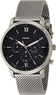 Fossil Neutra Chrono Men's Black Dial Stainless Steel Analog Watch - FS5699