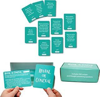 Reveal or Conceal The Game with 500 Questions to Get to Know Each Other