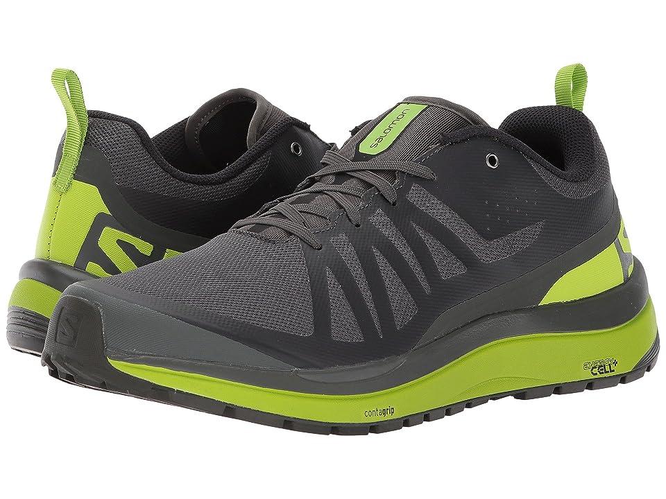 Salomon Odyssey Pro (Beluga/Lime Green/Black) Men