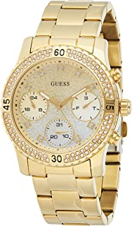 Guess Women's Multi Color Dial Stainless Steel Band Watch - GUE_W0774L5