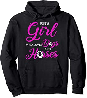 ca1a185c54502 Dog Horse Cute Funny Hoodie Horseback Riding Gift Women