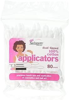 Swisspers Premium Cosmetic Applicators - 80 ct