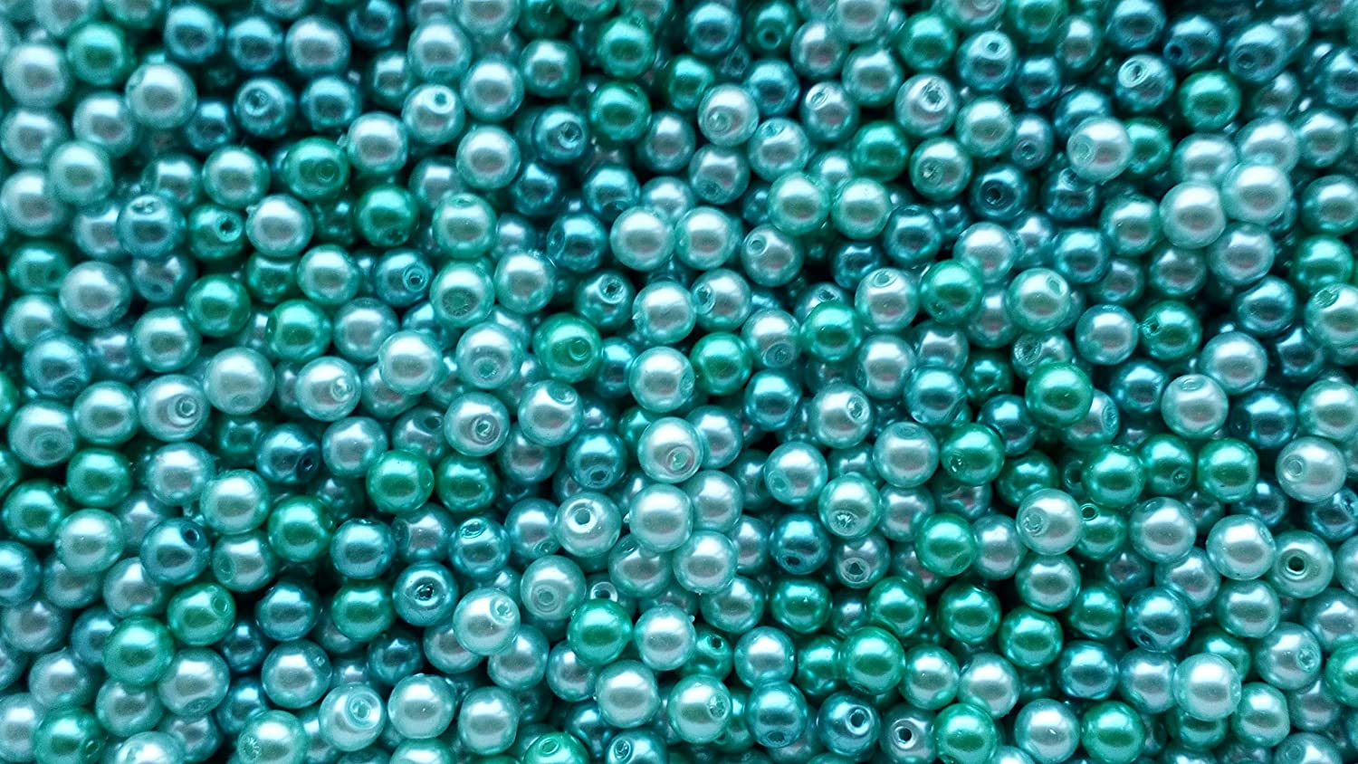 Blue, 8mm 200 6mm or 100 8mm Glass Pearl Beads//Bead mixes Choice of Colour 400 4mm