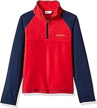 Columbia Boys' Glacial Half Zip Fleece Jacket