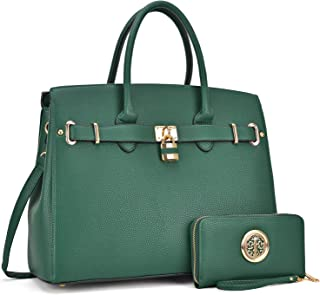 MMK collection Women's Handbag~Fashion vegan leather Satchel Handbag~ Perfect size Designer women's Tote handbags