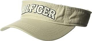 TOMMY HILFIGER Mens 6942962 Dad Hat Hilfiger Varsity Visor Baseball Cap