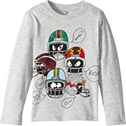 Stella McCartney Kids - Georgie Helmet Heads Long Sleeve Graphic Tee (Infant)