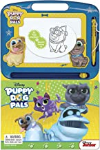 Puppy Dog Pals - Learning Book With Magnetic Drawing Pad
