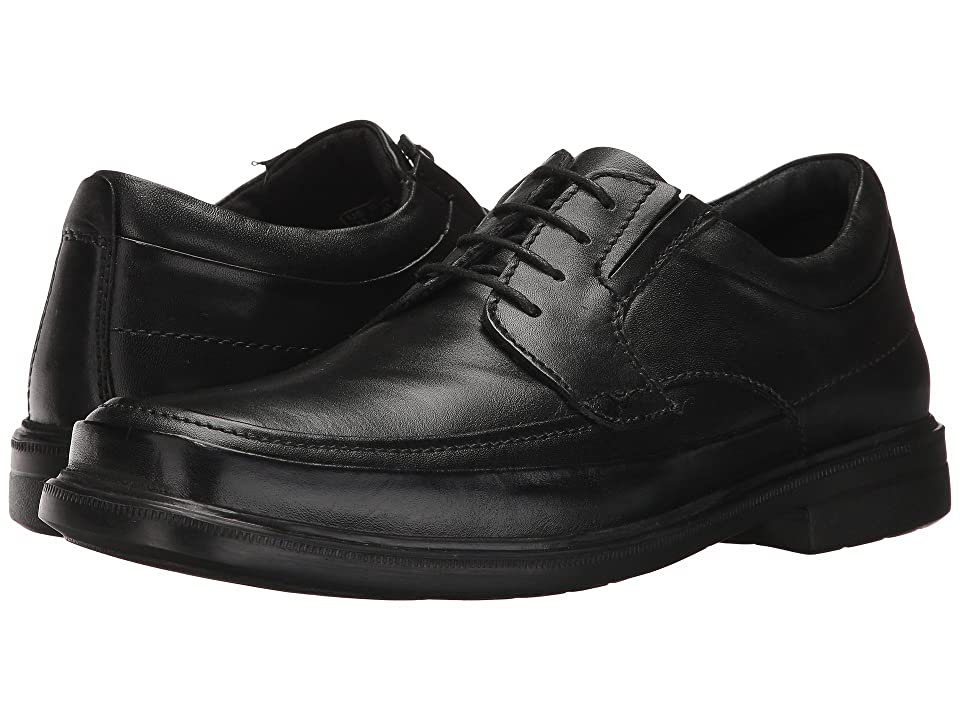 Hush Puppies Prinze Hopper (Black Leather) Men