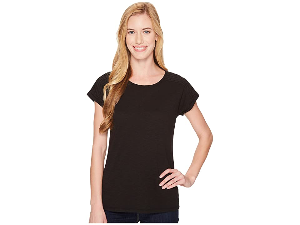 Aventura Clothing Susanna Short Sleeve Top (Black) Women