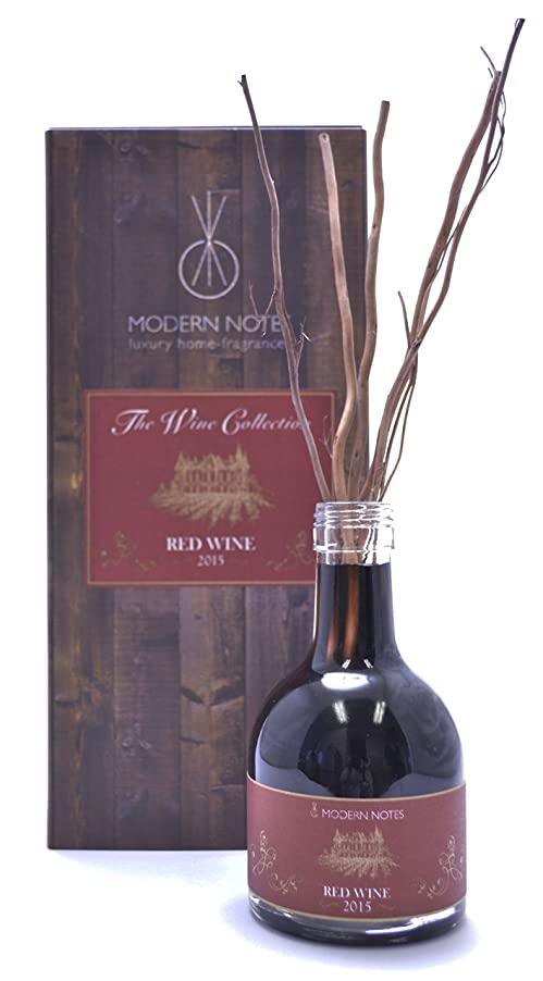 銛ボウル懐疑的MODERN NOTES ワインコレクション リードディフューザー 2015 RED WINE 200mL