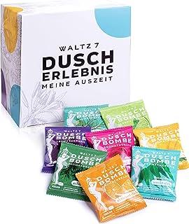 WALTZ7 Original Douche Bomb Set, 8 Natuurlijke Aromatherapie Badgeuren, Ontspanning, Energie, Wellness, Rust, Lavendel, Eu...