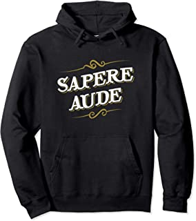 Immanuel Kant - Sapere Aude - Design for Philosophers Pullover Hoodie