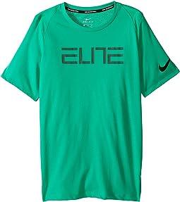 Nike Kids - Elite Short Sleeve Shooter Top (Little Kids/Big Kids)