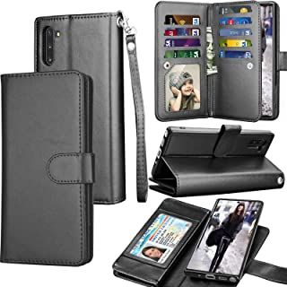 Tekcoo for Galaxy Note 10 Case, Galaxy Note 10+ Wallet Case, Luxury Cash Card Slots Holder Carrying Folio Flip PU Leather ...