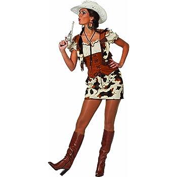 Stekarneval - Disfraz de cowgirl para mujer, talla 40 (455440 ...