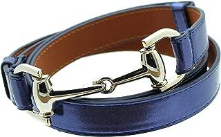 horsebit belt