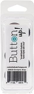 Button Up! Snack Pack Buttons 8/Pkg-Dorian's Gray