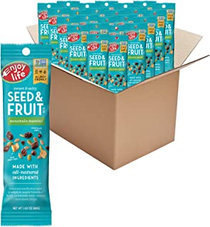 Enjoy Life Seed & Fruit Mix, Peanut Free Trail Mix, Soy Free, Nut Free, Gluten Free, Dairy Free, Non GMO, Vegan Snack Mix,...