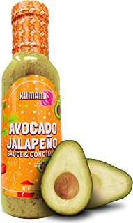 Keto Avocado Hot Sauce by Kumana, Jalapeño. A Vibrant Hot Sauce made with Ripe Avocados and Chili Peppers. Ketogenic and P...