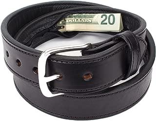 Hidden Money Pocket Travel Leather Belt