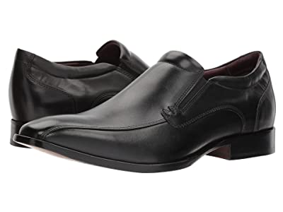 Johnston & Murphy McClain Dress Venetian Slip-On (Black Full Grain) Men