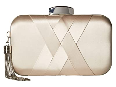 Jessica McClintock Molly Minaudiere (Champagne) Clutch Handbags