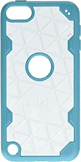 MyBat Cell Phone Case for Apple iPod Touch - Retail Packaging - Clear/Teal