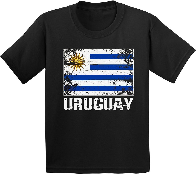 Awkward Styles Uruguay Shirts for Youth Uruguay Flag T-Shirts Kids Uruguay Gifts