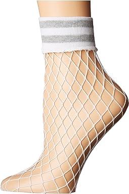 Varsity Fishnet Anklet