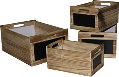 Screen Gems SGT45 Storage Boxes, Brown