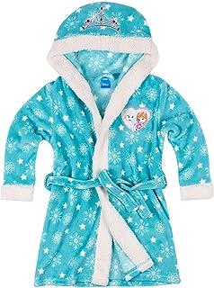4f6b7273d1663 Disney La Reine des neiges Fille Robe de chambre à capuche polaire, toucher  doux -