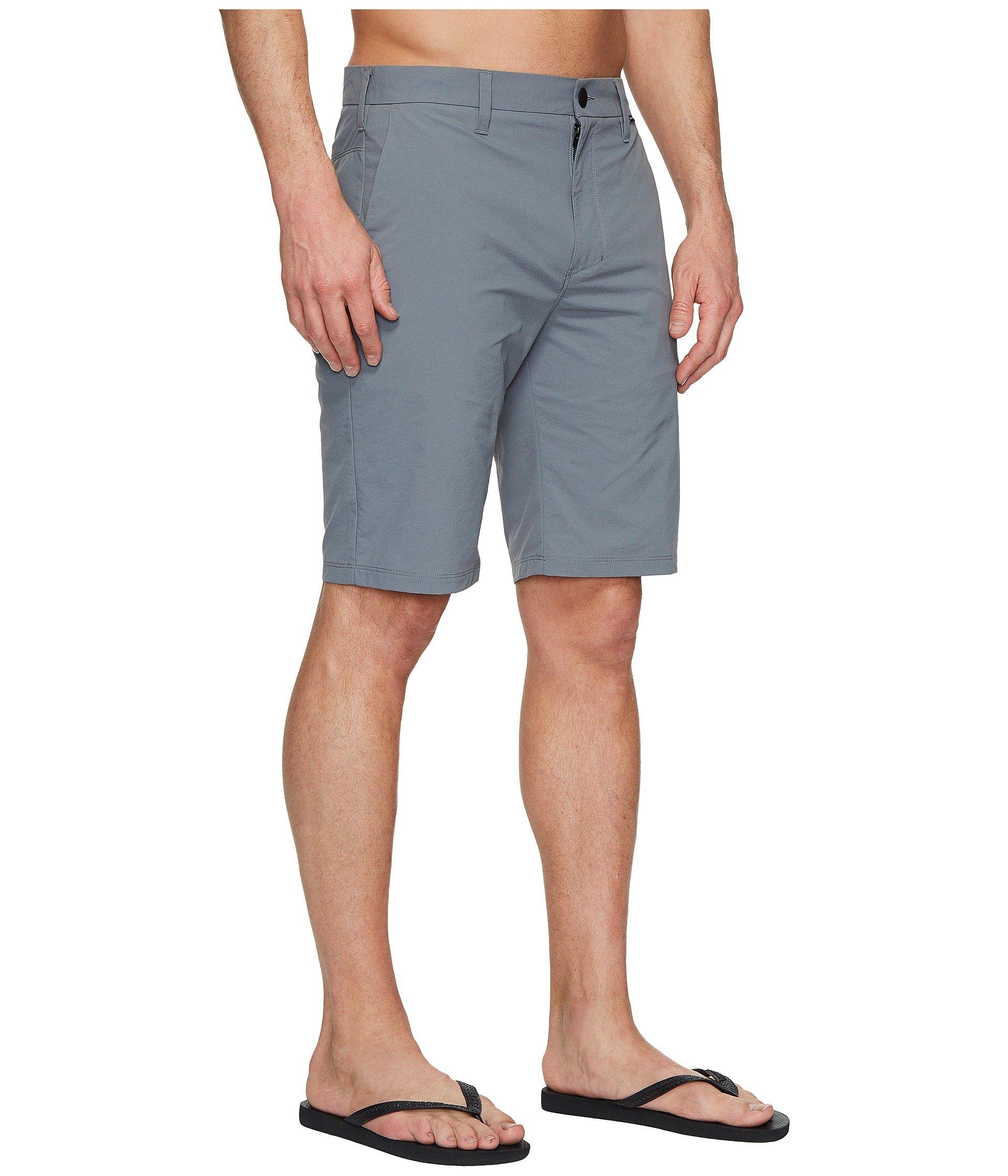Chino Grey fit Dri Walkshorts 21