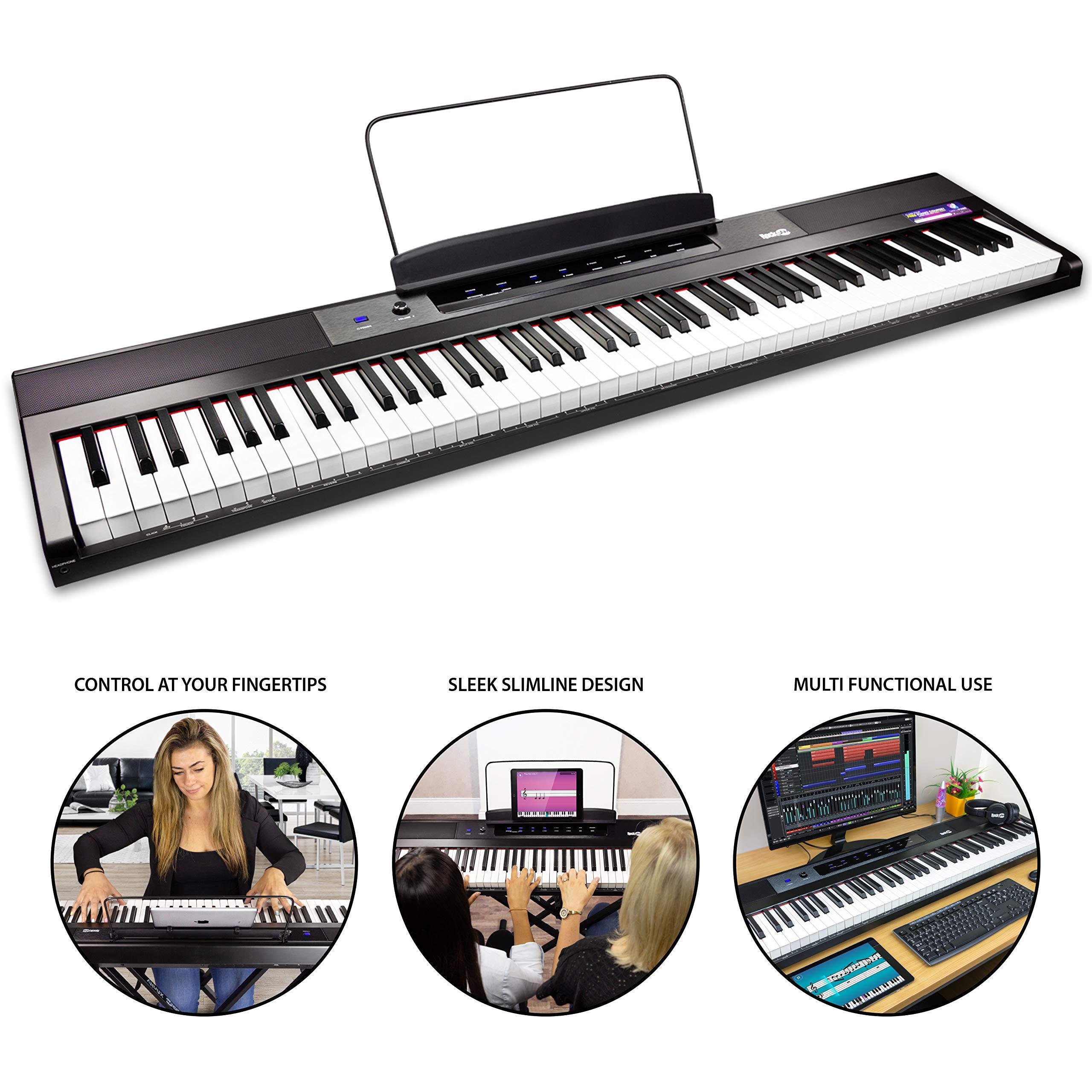 RockJam 88 Key Digital Pianos Home RJ88DP