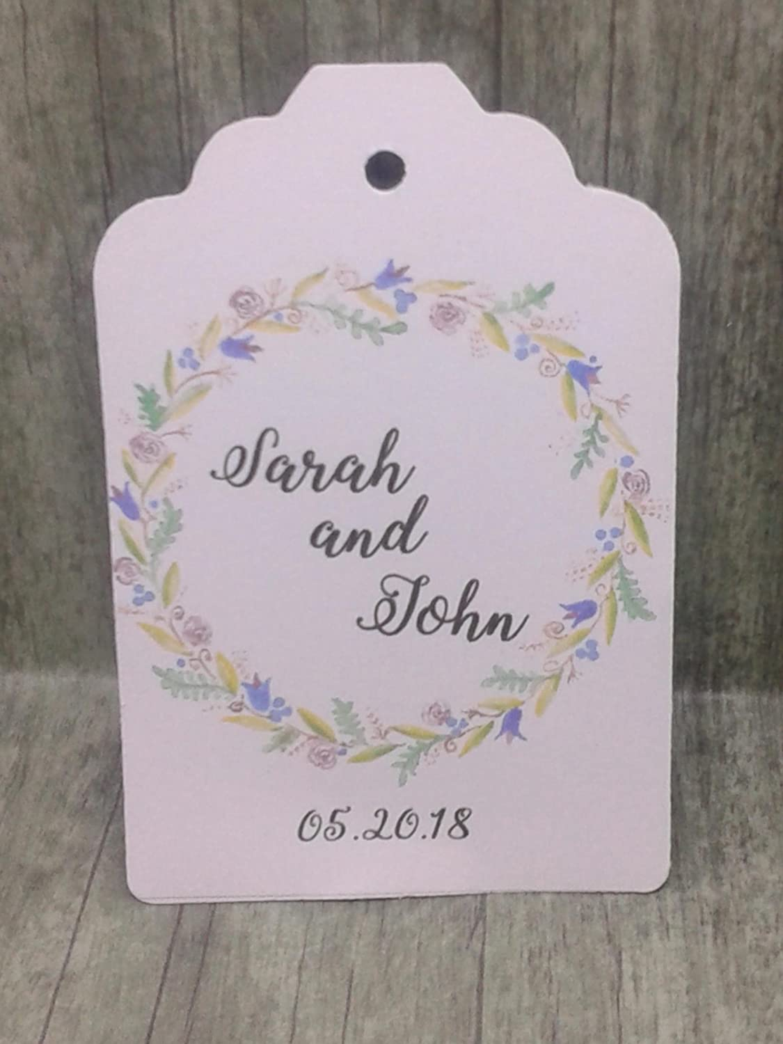 Financial sales sale GIFT TAGS Many popular brands set of 25 tags wedding favour wreath gift design
