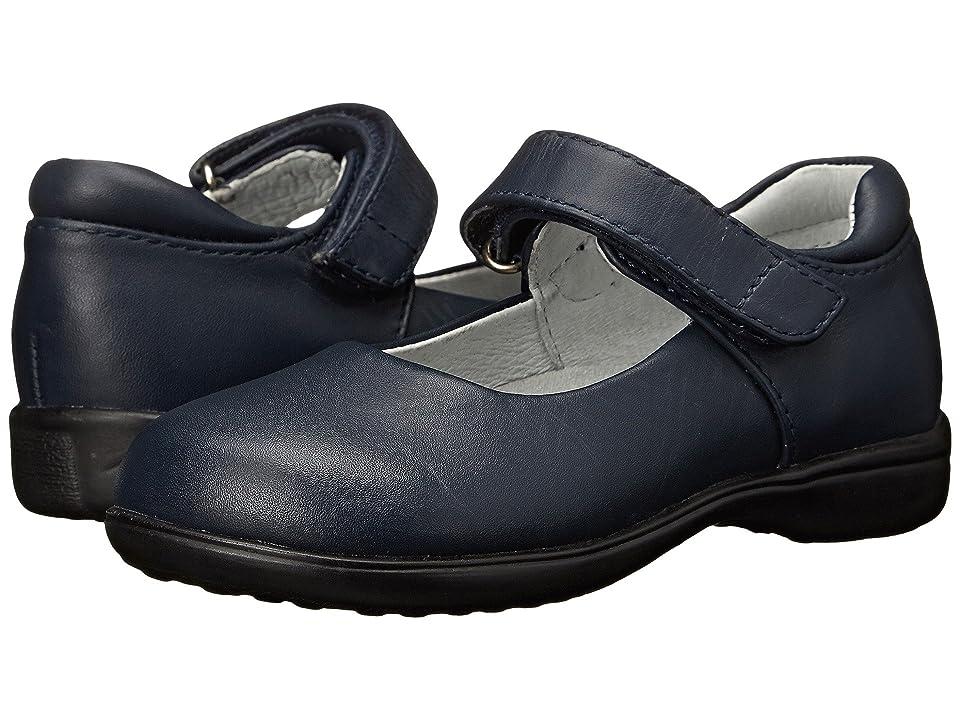Jumping Jacks Kids Tutor (Toddler/Little Kid) (Navy Leather) Girls Shoes