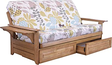 Lakeshore Complete Futon - Drawers, Frame and Mattress Set - Arm Tray 8