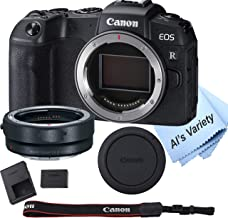 $999 » Canon EOS RP Mirrorless Camera (Body Only)+ Mount Adapter EF-EOS R ,Cleaning Cloth (7pc Bundle)
