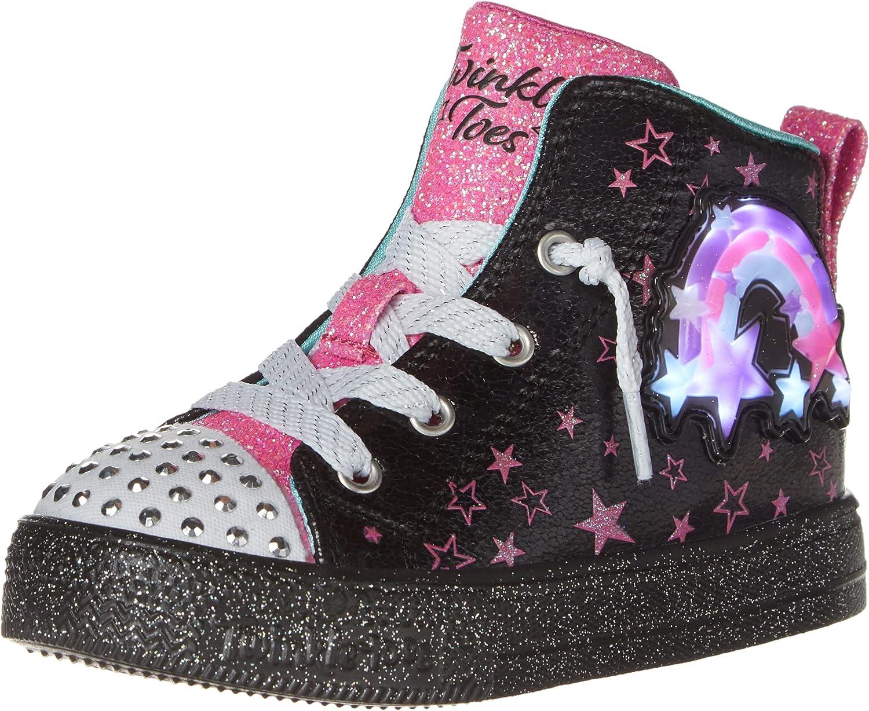 Skechers Unisex-Child Shuffle Brights Sneaker