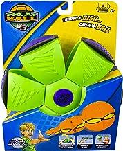 Phlat Ball V3 Solid Neon Green/ Purple Bumper