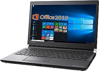 東芝 ノートPC R73/wajun(ワジュン)PCバッグセット/13.3型/MS Office 2019/Win 10 Pro/Core i3-6100U/HDMI/WIFI/8GB/128GB SSD (整備済み品)