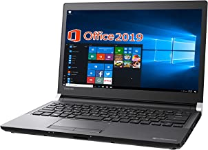 Toshiba Laptop R73/wajun XR PC Bag Set/13.3 Type/MS Office 2019/Win 10 Pro/Core i5-6300U/Webcam/HDMI/WIFI/16GB/256GB SSD (Refurbished)
