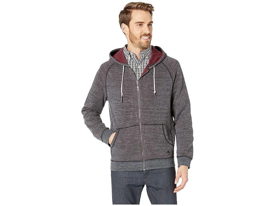 Tommy Bahama - Tommy Bahama Flip Street Hooded Full Zip Jacket