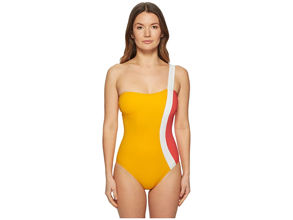 FLAGPOLE Calu One-Piece (Tangerine/Strawberry/Pearl) Women