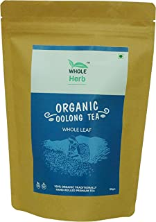 Whole Herb Organic Oolong Tea, 100g (Whole Leaf/Loose leaves)
