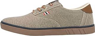 Boras SP Canvas Trainers in Plus Sizes Brown 5204-0090 Large Men's Shoes