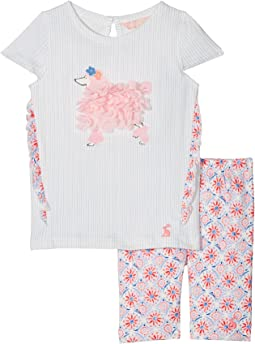 Frill Top with Crop Leggings Set (Infant)